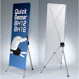 クイックバナーBH12、BH16、BH18:設置、正面背面