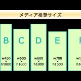 マルチバナーB1618:推奨の大きさは6種類!