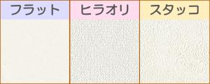 壁紙:フラット、平織、スタッコ