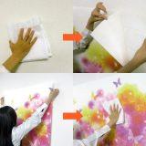 壁紙タック:貼る手順