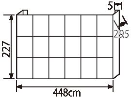 エキスパンドベルクロ6x3