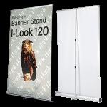 i-look-120:デザインと高性能のロールアップバナー