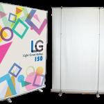 ロールアップLG150:ライトグレートバナー