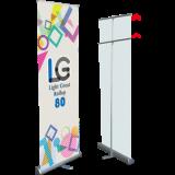 ロールアップLG80:巻き込み式簡易バナー