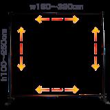 ショースクリーンS320・B320-伸縮自由自在
