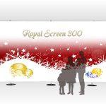 ロイヤルスクリーンバナー300:フォトスポットバックパネルイメージ