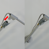 ロールアップ用LEDスポットライト取付図