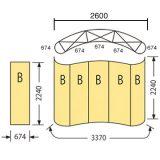 エキスパンドMC3×3寸法:(674×5枚)