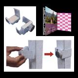 エスリブ連結コネクターL(直角3コ)