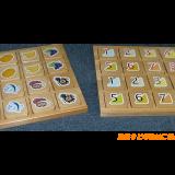 A3ステッカー:遊具例②木製ブロック