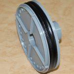 銅管プラグミニチュア版の製作です。パーツごとに分解して作ります。黒い部分も3Dプリンタで。