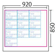 カッティング:レイアウトサンプル920x850mm 10枚