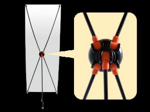 xbannerパーツ:センター胴体自由調整