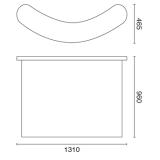REテーブル130本体サイズ