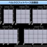 エキスパンドベルクロフットベース配置図