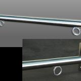 フラッグポールC-60(壁面用):ステンレス鏡面タイプ サンプル