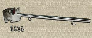 フラッグポールD-60(街路灯用):ステンレス鏡面タイプ
