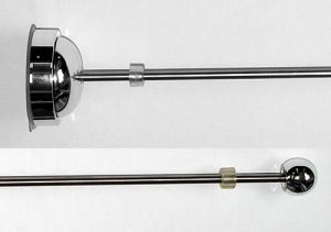 ウインドウ吸盤フラッグアームwf-50:ステンレスポール部分