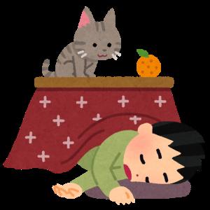 """ユープロのお正月休み:こたつで""""猫""""ろぐ"""