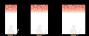 マジキリカラー印刷:和赤60・和赤90・和赤120