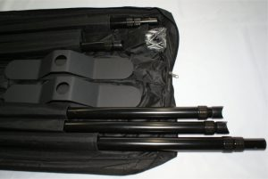 ショースクリーンB320:専用バッグに収納、各専用ポケットに収納できます。