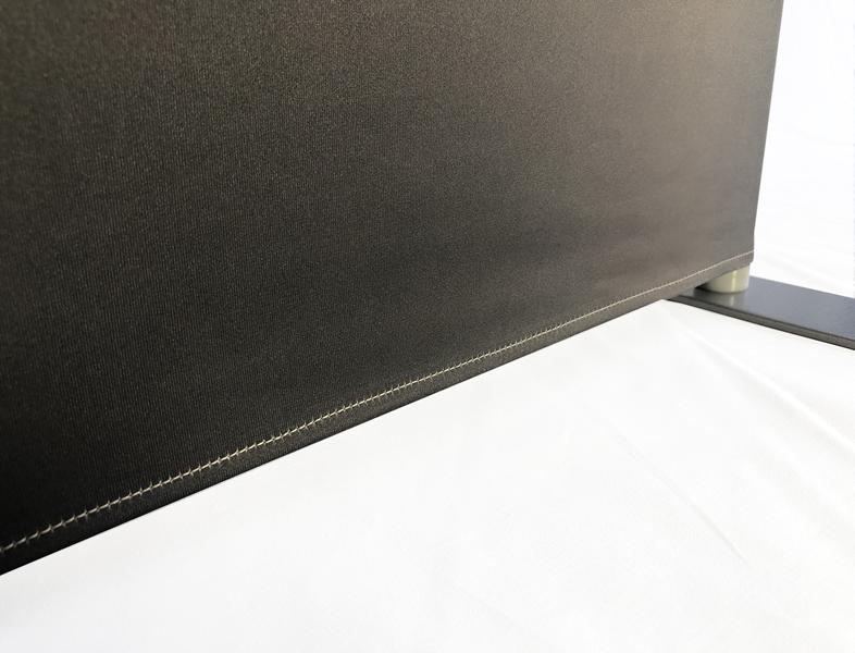 下部縫製:ほつれ防止の折り返し縫製加工